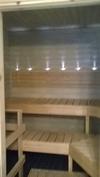 sauna+ledivalot selkänojassa