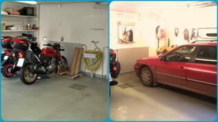 Autotalleissa lämmitys, vesipiste ja lattiakaivo - kelpaa puuhailla