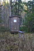 uusi ulko wc, biolanin kompostikäymälä helppo ja siisti tyhjentää