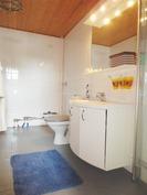 Pesuhuone ja kodinhoitotilat