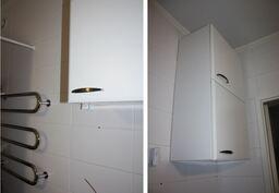 Kylpyhuoneen yläkaapit