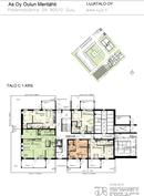 C-talon 1.kerroksen pohjakuva
