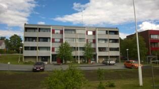Kuva sisäpiha, asunto keskellä 1. kerros