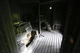 Savusaunan löylyhuone