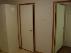 Asunnon nro 1 (2H+K+PH/WC) makuuhuone