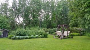 vehmas puutarhamainen terassi
