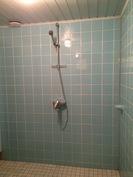 Pesuhuoneen pintoja on uusittu 90-luvun alussa