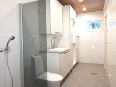 Pesuhuonetta ja kodinhoitohuonetta