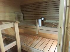Tosi siisti oma sauna alakerrassa