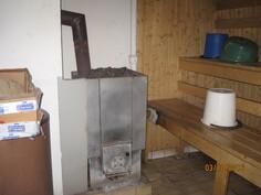 sauna kellarissa