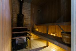 Puukiuas-sauna