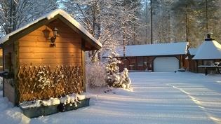 Pihapiiri talvella