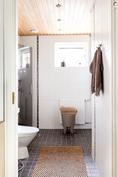 WC ja suihku + sauna