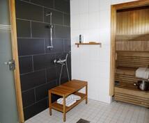 Kylpyhuone, sauna, wc