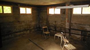 Kellarikerroksen huone(entinen autokorjaamo)