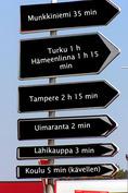 Puolessa tunnissa Helsinkiin!