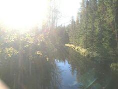 Pohjoisosan jokimaisema