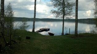 kaunis järvinäköala