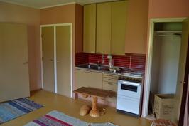 Siipirakennus, keittiö