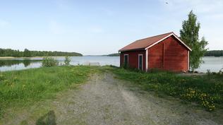 Björkbodan tehtaan ranta