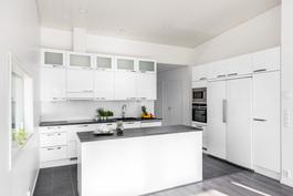 Valitse mieleiset materiaalit keittiöösi