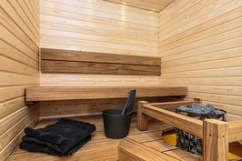 Voit sisustaa myös saunasi