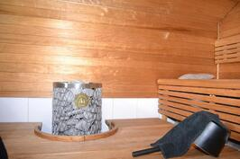 Groopin talo, sauna