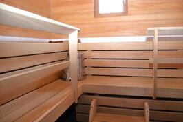 Kuopan talo, sauna