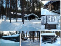 Pihapiiriä talvella
