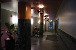 Tähtitornin ala-aula.