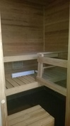 Vähän käytetty sauna
