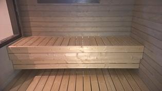 Sauna 2det, lauteet ( 8 kw. Kiuas