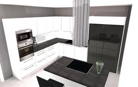 Havainnekuva keittiö