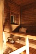 Sauna, ikkuna