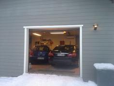 Lämmin autotalli