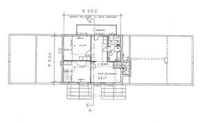 Pohjapiirustus yläkerta (suuntaa-antava, ei mittakaavassa)