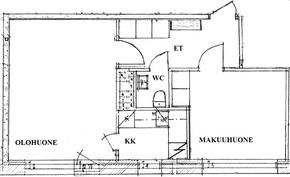 Pohjapiirros (suuntaa-antava, ei mittakaavassa)