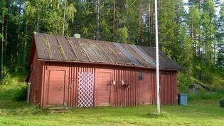 Autotalli/varasto/vanha sauna