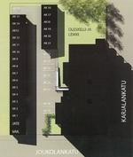 Autokatospaikkakartta (myytävänä autokatos nro 20)