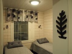 Keskikerroksen toinen makuuhuone (C Anne Jaspis Toivonen)