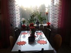 Olohuoneessa tilaa pöydälle