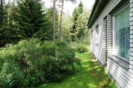 Terassin paikka - plats för terrass
