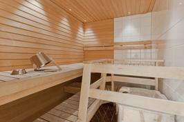 Sauna ja heti-valmis kiuas