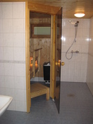 Taloyhtiön yhteinen saunaosasto