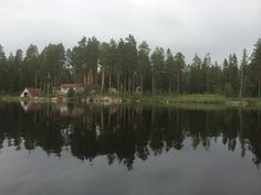 Kohde järveltä päin