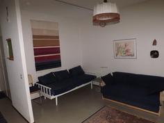 Olohuoneesta ja makuualkovista