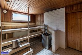 Yhtiön sauna --> Remontoidaan tammikuusta alkaen.