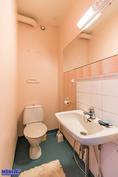WC remontoidaan putkiremontilla täysin. Omistaja saa valita laatat.