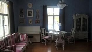 Sininen salonki alakerta