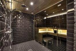Kylpyhuone ja sauna, kuva: Jonathan Melartin